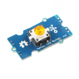 Grove - Yellow LED Button
