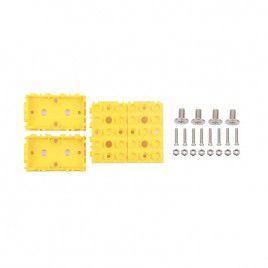 Grove Wrapper 2x1 Yellow (4 pcs)