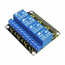 4-Channel Relay HAT for Raspberry Pi