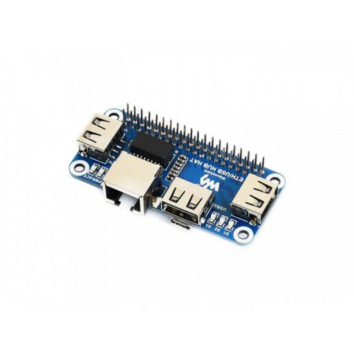 Ethernet and USB Hub pHAT for Raspberry Pi Zero