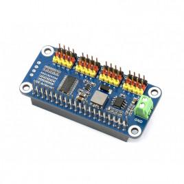 Servo Driver HAT for Raspberry Pi, 16-Channel, 12-bit, I2C