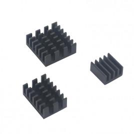Raspberry PI 4 Heatsink Set (3pcs) Black