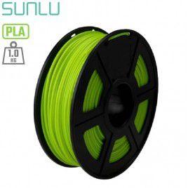 3D Printer 1.75mm PLA Filament (สีเขียวนีออน)