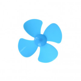 DIY 4 Blades 56mm Motor Propeller (Blue)