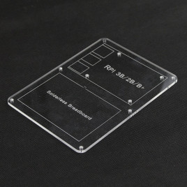 RPI Acrylic Experiment Base Plate