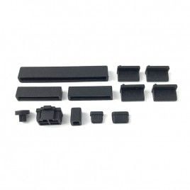 Anti Dust Silicone Covers for Raspberry Pi 4B - Black