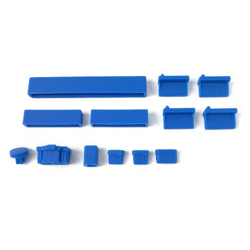 Anti Dust Silicone Covers for Raspberry Pi 4B - Blue