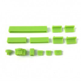 Anti Dust Silicone Covers for Raspberry Pi 4B - Green