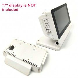 Smarti Pi Touch PRO Case with Large+Small Back Cover-White