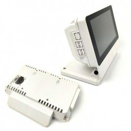 "RPi 7"" Touch Screen Display With Smarti Pi Touch PRO Case - White"
