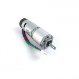 12V 60RPM 6.7kgfcm 32mm Planetary DC Geared Motor with Encoder