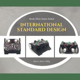 Ikedo Mini Sumo Robot Starter Kit