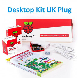 Raspberry Pi 4 Desktop Kit UK Plug (4GB)