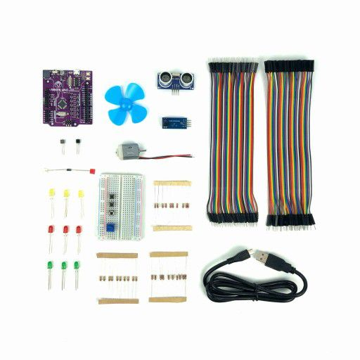 Maker UNO Learning Box - Everything You Need To Start Making