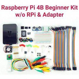 Raspberry Pi 4B Beginner Kit-w/o RPi and Adapter