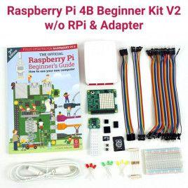 Raspberry Pi 4B Beginner Kit V2-w/o RPi and Adapter