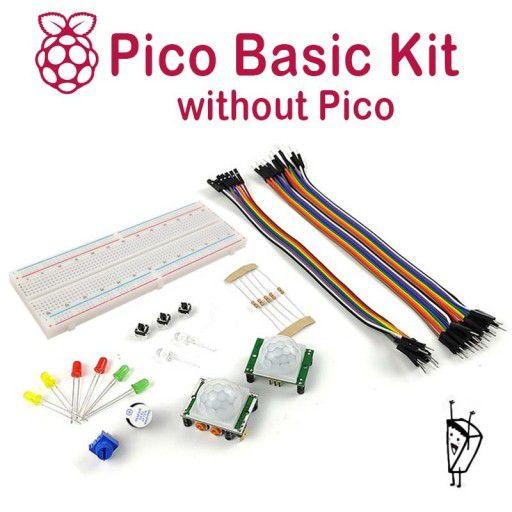 Raspberry Pi Pico Basic Kit - without Pico