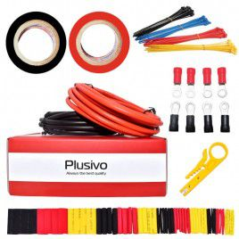 12AWG Hook Up Wire Kit 2-color Tinned Stranded Wire