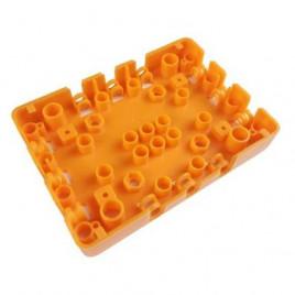 Kittenbot ROBOTBIT Base Plate (Lego Compatible)