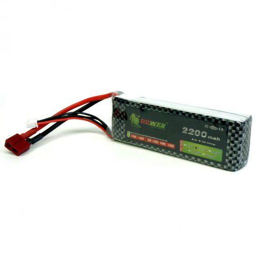 LiPo Rechargeable Battery 11.1V 2200mAh 30C