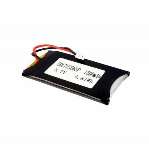 LiPo Rechargeable Battery 3.7V 1300mAH