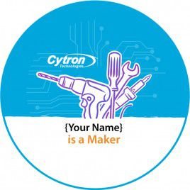 Personalized Badge for Makers