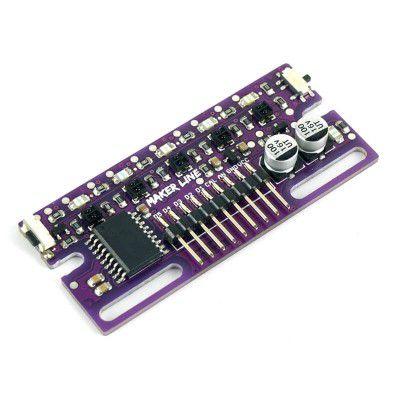 Maker Line: Simplifying Line Sensor For Beginner