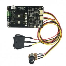 10 Amp 7V-30V Potentiometer & Switch Control DC Motor Driver
