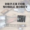 3Amp 4V-16V DC Motor Driver (2 Channels)