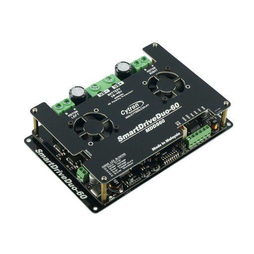 60Amp 7V-45V SmartDrive DC Motor Driver (2 Channels)