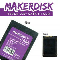 120GB 2.5-inch MakerDisk SATA III SSD with RPi OS