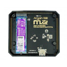 Argon One M.2 Base with MakerDisk 120GB M.2 SSD