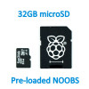 32GB Micro SD Card with NOOBS for RPI