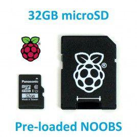 Thẻ nhớ Micro SD 32GB cài sẵn NOOBS cho RPI