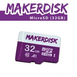 32GB Raspberry Pi Approved MakerDisk uSD with RPi OS