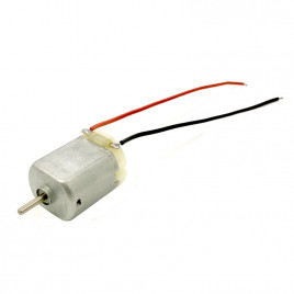 3V Miniature Brush Motor with wire leads