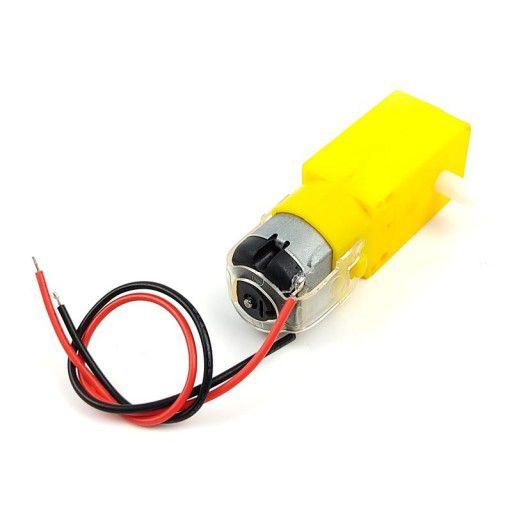 3V - 6V Dual Axis TT Gear Motor