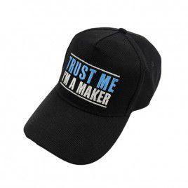 Trust Me Baseball Cap - Black