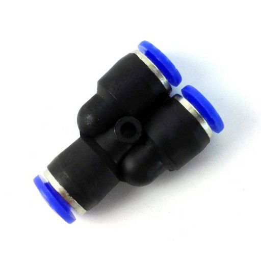 PY6 Pneumatic Union 6mm Y Host Push In Fitting