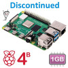 Raspberry Pi 4 Model B - 1GB (Discontinued)