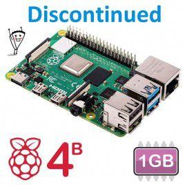 Raspberry Pi 4 Model B - 1GB (Discontinued)