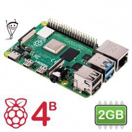 Raspberry Pi 4 Model B - 2GB (Rev1.2)