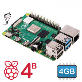 Raspberry Pi 4 Model B - 4GB
