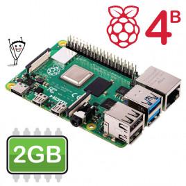 Raspberry Pi 4 Model B - 2GB