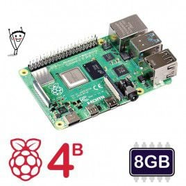 Raspberry Pi 4 Model B - 8GB (Latest)