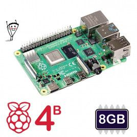 Raspberry Pi 4 Model B - 8GB (Lastest)