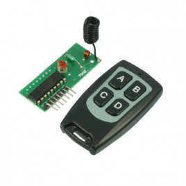 RF 4CH Remote Control Kit (Momentory)