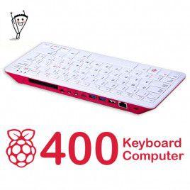 Máy tính Bàn phím Raspberry Pi 400 - Bố cục phím US (Mới nhất)