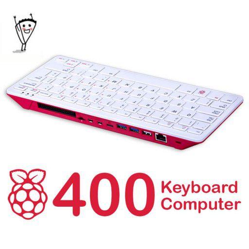 Raspberry Pi 400 Keyboard Computer-US Layout (Latest)
