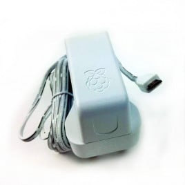 Official RPi PSU 5.1V 2.5A Single Head UK White